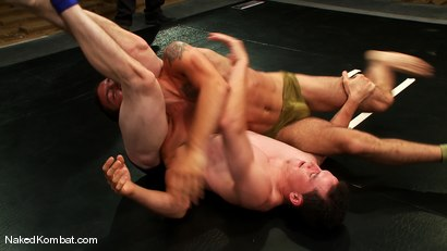 Photo number 1 from DJ vs Martin Lorenzo <br />The Oil Match shot for Naked Kombat on Kink.com. Featuring DJ and Martin Lorenzo in hardcore BDSM & Fetish porn.