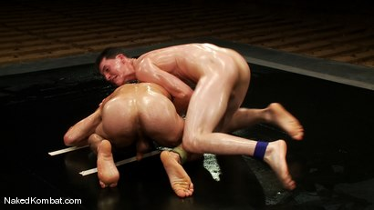 Photo number 10 from DJ vs Martin Lorenzo <br />The Oil Match shot for Naked Kombat on Kink.com. Featuring DJ and Martin Lorenzo in hardcore BDSM & Fetish porn.