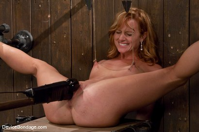 Photo number 12 from Ariel <br> Natural red head, helpless and loving it.<br>-Countdown to Relaunch - 10 of 20 shot for Device Bondage on Kink.com. Featuring Ariel in hardcore BDSM & Fetish porn.
