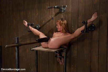 Photo number 13 from Ariel <br> Natural red head, helpless and loving it.<br>-Countdown to Relaunch - 10 of 20 shot for Device Bondage on Kink.com. Featuring Ariel in hardcore BDSM & Fetish porn.