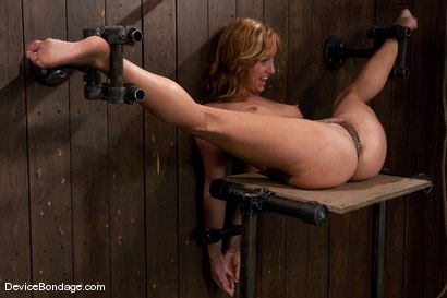 Photo number 1 from Ariel <br> Natural red head, helpless and loving it.<br>-Countdown to Relaunch - 10 of 20 shot for Device Bondage on Kink.com. Featuring Ariel in hardcore BDSM & Fetish porn.