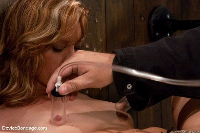 Photo number 5 from Ariel <br> Natural red head, helpless and loving it.<br>-Countdown to Relaunch - 10 of 20 shot for Device Bondage on Kink.com. Featuring Ariel in hardcore BDSM & Fetish porn.