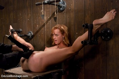 Photo number 8 from Ariel <br> Natural red head, helpless and loving it.<br>-Countdown to Relaunch - 10 of 20 shot for Device Bondage on Kink.com. Featuring Ariel in hardcore BDSM & Fetish porn.