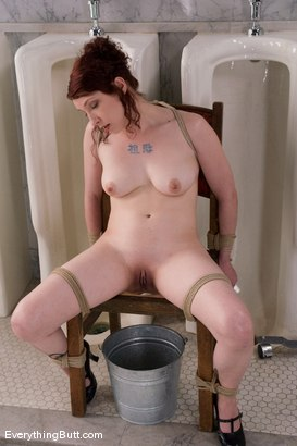 Photo number 14 from Anal Antics... Carmen Takes a LOT of water for her Enema Audition shot for Everything Butt on Kink.com. Featuring Carmen Stark in hardcore BDSM & Fetish porn.