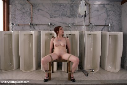 Photo number 4 from Anal Antics... Carmen Takes a LOT of water for her Enema Audition shot for Everything Butt on Kink.com. Featuring Carmen Stark in hardcore BDSM & Fetish porn.