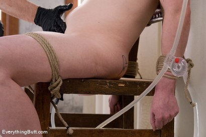 Photo number 8 from Anal Antics... Carmen Takes a LOT of water for her Enema Audition shot for Everything Butt on Kink.com. Featuring Carmen Stark in hardcore BDSM & Fetish porn.