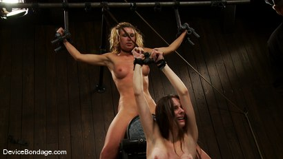 Photo number 13 from Mason, Winter Sky and Christina <br>Part 4 of 4 of the July Live Feed shot for Device Bondage on Kink.com. Featuring Christina Carter, Mason and Winter Sky in hardcore BDSM & Fetish porn.