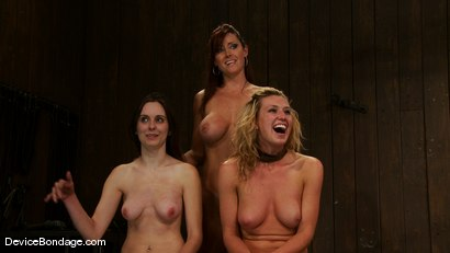 Photo number 15 from Mason, Winter Sky and Christina <br>Part 4 of 4 of the July Live Feed shot for Device Bondage on Kink.com. Featuring Christina Carter, Mason and Winter Sky in hardcore BDSM & Fetish porn.