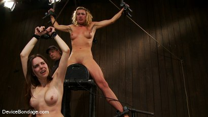 Photo number 8 from Mason, Winter Sky and Christina <br>Part 4 of 4 of the July Live Feed shot for Device Bondage on Kink.com. Featuring Christina Carter, Mason and Winter Sky in hardcore BDSM & Fetish porn.
