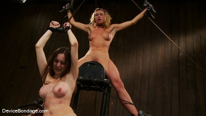 Photo number 9 from Mason, Winter Sky and Christina <br>Part 4 of 4 of the July Live Feed shot for Device Bondage on Kink.com. Featuring Christina Carter, Mason and Winter Sky in hardcore BDSM & Fetish porn.