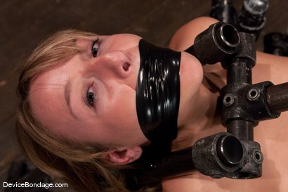 Photo number 3 from Jessie Cox<br> From kitten cute, to fucked up in seconds. shot for Device Bondage on Kink.com. Featuring Jessie Cox in hardcore BDSM & Fetish porn.