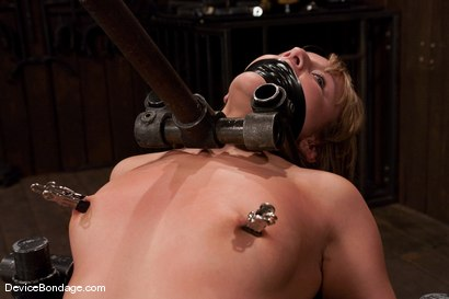 Photo number 9 from Jessie Cox<br> From kitten cute, to fucked up in seconds. shot for Device Bondage on Kink.com. Featuring Jessie Cox in hardcore BDSM & Fetish porn.