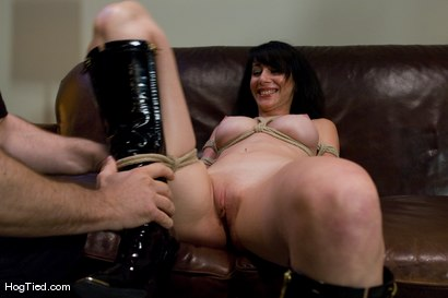 Photo number 5 from Amateur Casting Couch 23: Daniela is a Dominant Beauty Captured shot for Hogtied on Kink.com. Featuring Scarlett Stone in hardcore BDSM & Fetish porn.