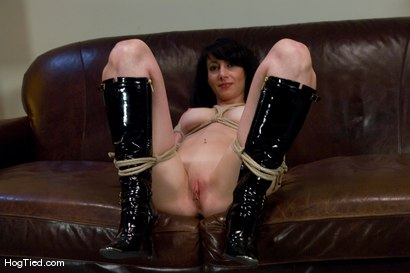 Photo number 6 from Amateur Casting Couch 23: Daniela is a Dominant Beauty Captured shot for Hogtied on Kink.com. Featuring Scarlett Stone in hardcore BDSM & Fetish porn.