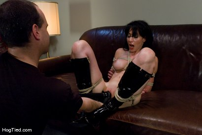 Photo number 10 from Amateur Casting Couch 23: Daniela is a Dominant Beauty Captured shot for Hogtied on Kink.com. Featuring Scarlett Stone in hardcore BDSM & Fetish porn.