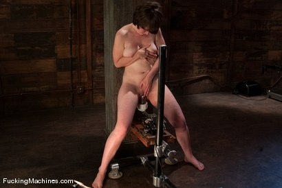 Photo number 14 from AMATEUR GIRL FRIDAYS - CLAUDIA shot for Fucking Machines on Kink.com. Featuring Claudia LeNoir in hardcore BDSM & Fetish porn.