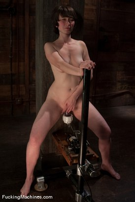 Photo number 11 from AMATEUR GIRL FRIDAYS - CLAUDIA shot for Fucking Machines on Kink.com. Featuring Claudia LeNoir in hardcore BDSM & Fetish porn.