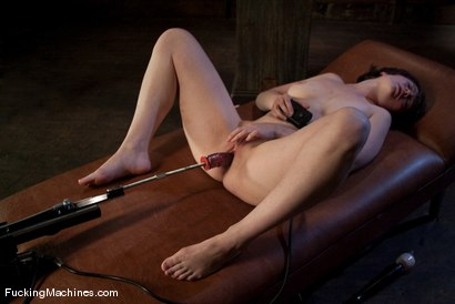Photo number 5 from AMATEUR GIRL FRIDAYS - CLAUDIA shot for Fucking Machines on Kink.com. Featuring Claudia LeNoir in hardcore BDSM & Fetish porn.