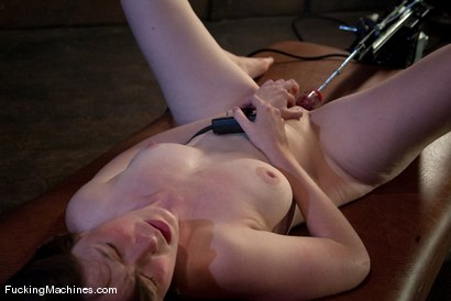 Photo number 9 from AMATEUR GIRL FRIDAYS - CLAUDIA shot for Fucking Machines on Kink.com. Featuring Claudia LeNoir in hardcore BDSM & Fetish porn.