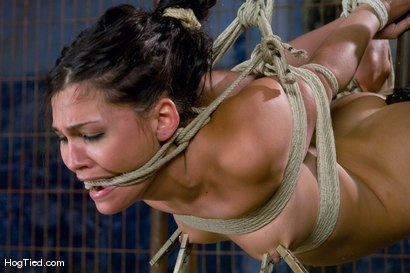 Photo number 10 from Jade Indica fucks her own ass in suspension! shot for Hogtied on Kink.com. Featuring Miss Jade Indica in hardcore BDSM & Fetish porn.
