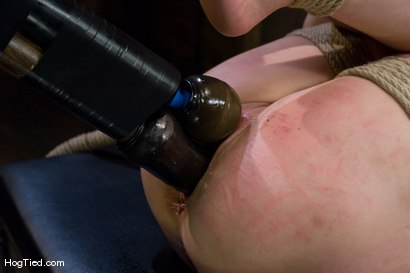 Photo number 10 from Submission to pain..... Cherries & Felony  shot for Hogtied on Kink.com. Featuring Felony and Cherries Jubalie in hardcore BDSM & Fetish porn.