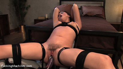 Photo number 5 from Sindee Jennings - bound and sopping in cum shot for Fucking Machines on Kink.com. Featuring Sindee Jennings in hardcore BDSM & Fetish porn.