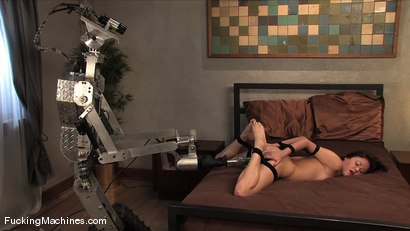 Photo number 6 from Sindee Jennings - bound and sopping in cum shot for Fucking Machines on Kink.com. Featuring Sindee Jennings in hardcore BDSM & Fetish porn.
