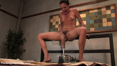 Photo number 14 from Sindee Jennings - bound and sopping in cum shot for Fucking Machines on Kink.com. Featuring Sindee Jennings in hardcore BDSM & Fetish porn.