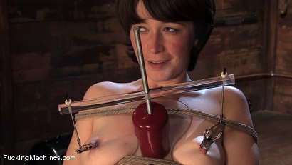 Photo number 5 from AMATEUR GIRL FRIDAY - CLAUDIA LeNOIR  shot for Fucking Machines on Kink.com. Featuring Claudia LeNoir in hardcore BDSM & Fetish porn.