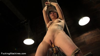 Photo number 14 from AMATEUR GIRL FRIDAY - CLAUDIA LeNOIR  shot for Fucking Machines on Kink.com. Featuring Claudia LeNoir in hardcore BDSM & Fetish porn.