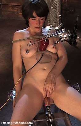 Photo number 8 from AMATEUR GIRL FRIDAY - CLAUDIA LeNOIR  shot for Fucking Machines on Kink.com. Featuring Claudia LeNoir in hardcore BDSM & Fetish porn.
