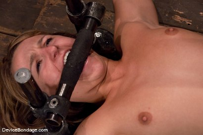 Photo number 4 from Jessie Cox<br>Fucked by a machine<br>Skynet is pleased.. shot for Device Bondage on Kink.com. Featuring Jessie Cox in hardcore BDSM & Fetish porn.