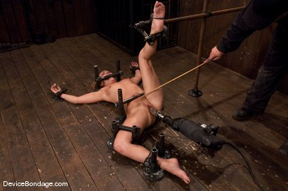 Photo number 8 from Jessie Cox<br>Fucked by a machine<br>Skynet is pleased.. shot for Device Bondage on Kink.com. Featuring Jessie Cox in hardcore BDSM & Fetish porn.