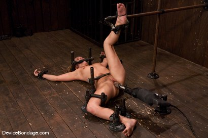 Photo number 14 from Jessie Cox<br>Fucked by a machine<br>Skynet is pleased.. shot for Device Bondage on Kink.com. Featuring Jessie Cox in hardcore BDSM & Fetish porn.
