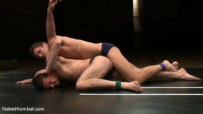 Photo number 1 from Shane Erickson vs Kyle Sparks<br />The Oil Match shot for Naked Kombat on Kink.com. Featuring Shane Erickson and Kyle Sparks in hardcore BDSM & Fetish porn.