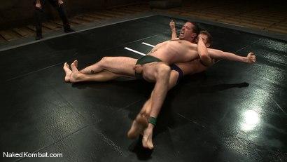 Photo number 2 from Shane Erickson vs Kyle Sparks<br />The Oil Match shot for Naked Kombat on Kink.com. Featuring Shane Erickson and Kyle Sparks in hardcore BDSM & Fetish porn.