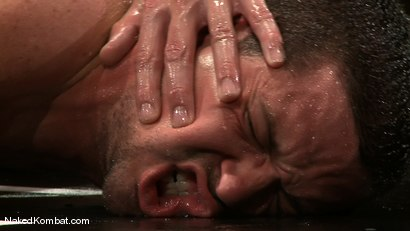Photo number 12 from Shane Erickson vs Kyle Sparks<br />The Oil Match shot for Naked Kombat on Kink.com. Featuring Shane Erickson and Kyle Sparks in hardcore BDSM & Fetish porn.