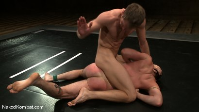 Photo number 5 from Shane Erickson vs Kyle Sparks<br />The Oil Match shot for Naked Kombat on Kink.com. Featuring Shane Erickson and Kyle Sparks in hardcore BDSM & Fetish porn.