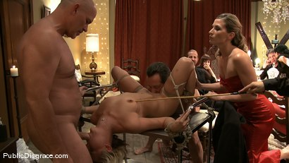 Photo number 8 from Jasmine Jolie: Common Whore   shot for Public Disgrace on Kink.com. Featuring Jasmine Jolie and Mark Davis in hardcore BDSM & Fetish porn.