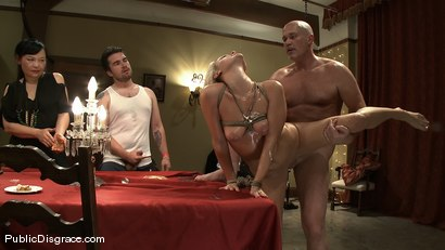 Photo number 13 from Jasmine Jolie: Common Whore   shot for Public Disgrace on Kink.com. Featuring Jasmine Jolie and Mark Davis in hardcore BDSM & Fetish porn.