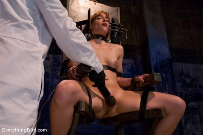 Photo number 12 from Anal Audition: Hot firey redhead doused with a gallon enema! shot for Everything Butt on Kink.com. Featuring Renee Broadway in hardcore BDSM & Fetish porn.