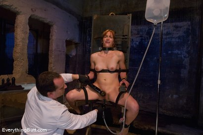Photo number 14 from Anal Audition: Hot firey redhead doused with a gallon enema! shot for Everything Butt on Kink.com. Featuring Renee Broadway in hardcore BDSM & Fetish porn.