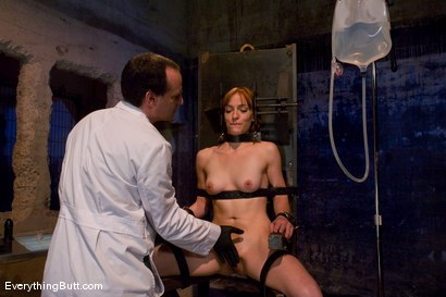 Photo number 4 from Anal Audition: Hot firey redhead doused with a gallon enema! shot for Everything Butt on Kink.com. Featuring Renee Broadway in hardcore BDSM & Fetish porn.