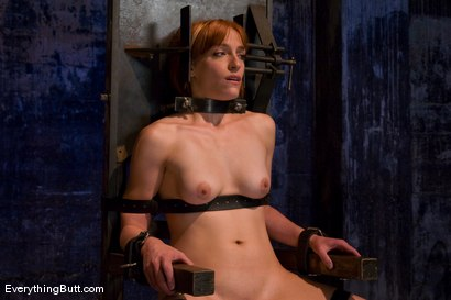 Photo number 9 from Anal Audition: Hot firey redhead doused with a gallon enema! shot for Everything Butt on Kink.com. Featuring Renee Broadway in hardcore BDSM & Fetish porn.