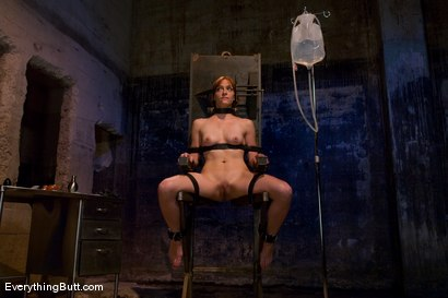 Photo number 1 from Anal Audition: Hot firey redhead doused with a gallon enema! shot for Everything Butt on Kink.com. Featuring Renee Broadway in hardcore BDSM & Fetish porn.