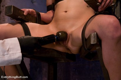 Photo number 11 from Anal Audition: Hot firey redhead doused with a gallon enema! shot for Everything Butt on Kink.com. Featuring Renee Broadway in hardcore BDSM & Fetish porn.