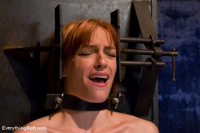 Photo number 6 from Anal Audition: Hot firey redhead doused with a gallon enema! shot for Everything Butt on Kink.com. Featuring Renee Broadway in hardcore BDSM & Fetish porn.