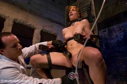 Photo number 7 from Anal Audition: Hot firey redhead doused with a gallon enema! shot for Everything Butt on Kink.com. Featuring Renee Broadway in hardcore BDSM & Fetish porn.
