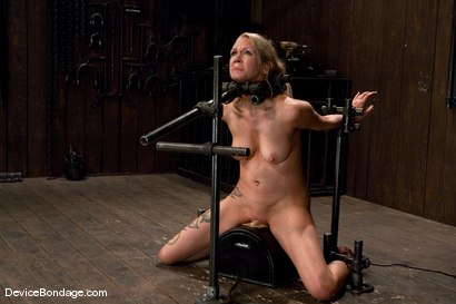 Photo number 12 from Rain DeGrey <br>-Countdown to Relaunch - 11 of 20 shot for Device Bondage on Kink.com. Featuring Rain DeGrey in hardcore BDSM & Fetish porn.