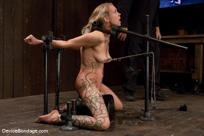 Photo number 7 from Rain DeGrey <br>-Countdown to Relaunch - 11 of 20 shot for Device Bondage on Kink.com. Featuring Rain DeGrey in hardcore BDSM & Fetish porn.